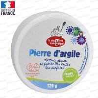 Pierre d'argile blanche - Nettoyant écologique multi-surfaces 125g