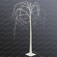 Arbre lumineux Saule pleureur LED blanc chaud - Haut. 1.20m