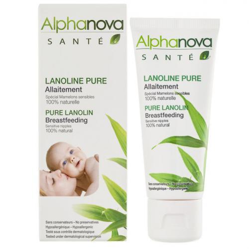 Lanoline pure 100% naturelle - Allaitement - Tube 40ml
