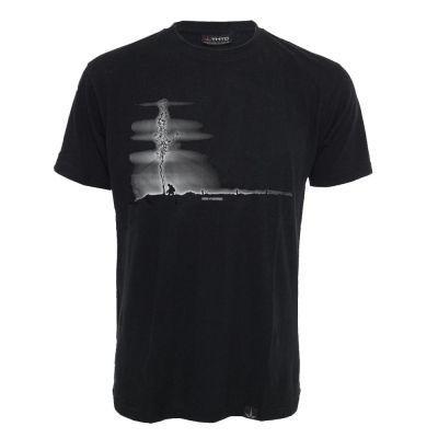 Tee shirt chanvre et coton bio noir Herb N Warrior