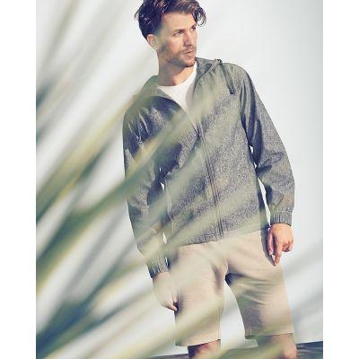 Sweat, veste zippée à capuche en chanvre et coton bio