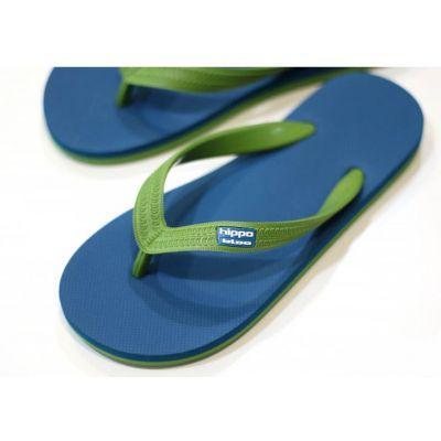 Tongs éthiques - écologiques blue green hawaï
