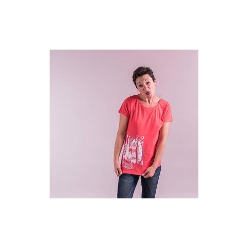 """T-shirt équitable coton bio JALNA """"Femmes du Monde"""""""