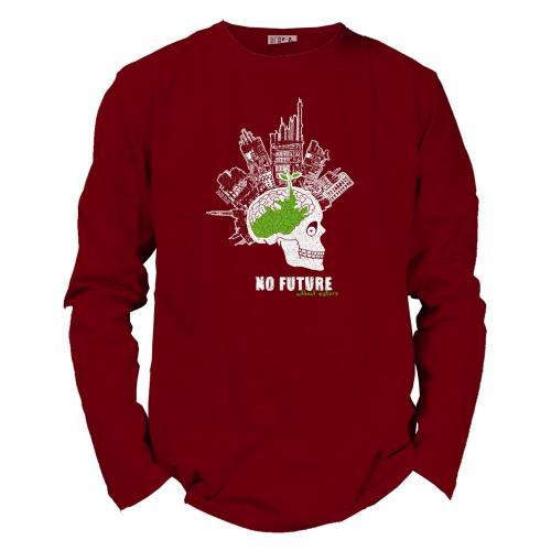 "T shirt coton bio équitable DAKAR ""No Future"""