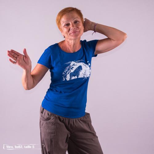 """T-shirt équitable coton bio JALNA """"Gare au gorille"""""""