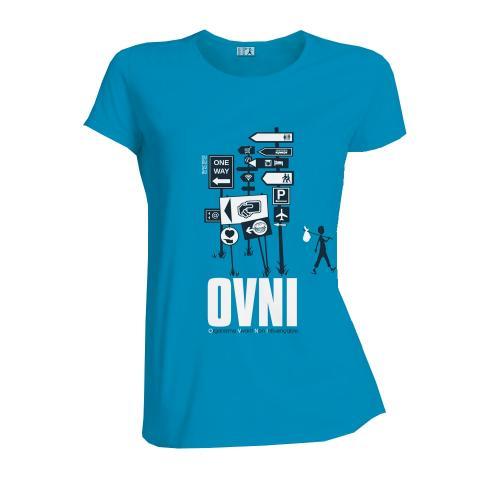 """T-shirt équitable coton bio JALNA """"O.V.N.I"""""""