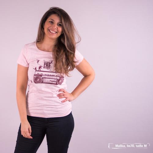 """T-shirt équitable coton bio JALNA """"Danse"""""""