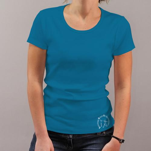 """T-shirt équitable coton bio JALNA """"empreinte O.V.N.I"""""""