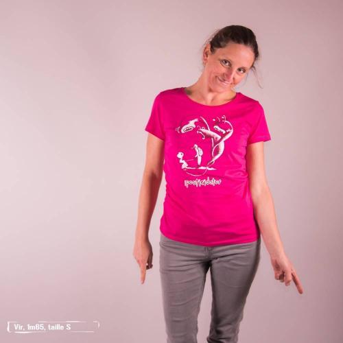 "T-shirt équitable coton bio JALNA ""Pesticidator"""