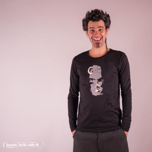 """T shirt coton bio équitable DAKAR """"Belle prise"""""""