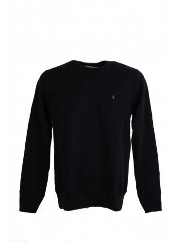 3S48 UT sweatshirt - Deep black - Merz B schwanen