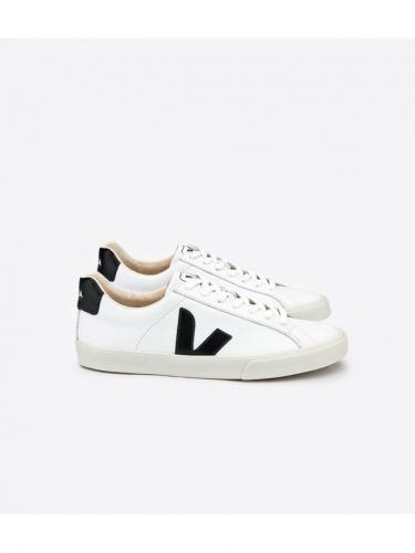 Esplar leather - Extra White Black - Veja