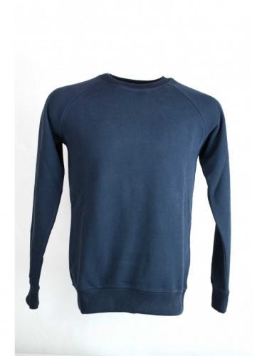 Sweat shirt melange - Total Eclipse - Knowledge cotton apparel