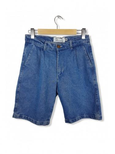 Pleats short - Denim - Outland