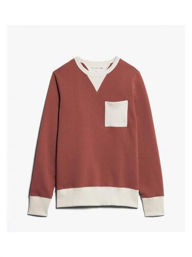 346 pocket sweatshirt - Nature Copper - Merz B schwanen