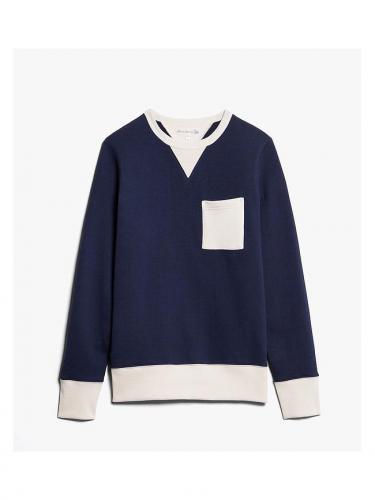 346 pocket sweatshirt - Nature Ink - Merz B schwanen