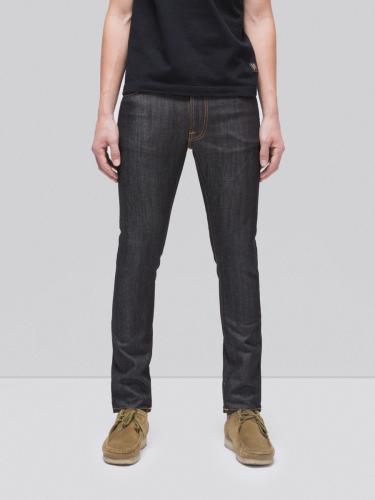 Jean slim brut en coton bio - lean dean dry tonal ecru - Nudie Jeans