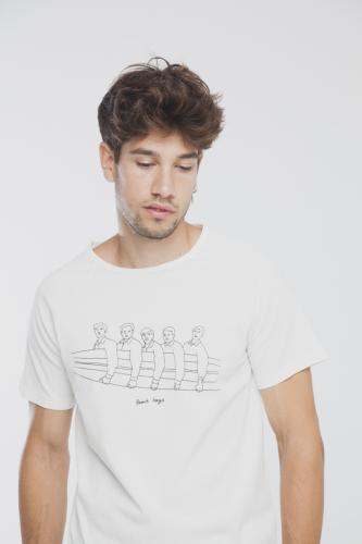 T-shirt en coton bio beach boys