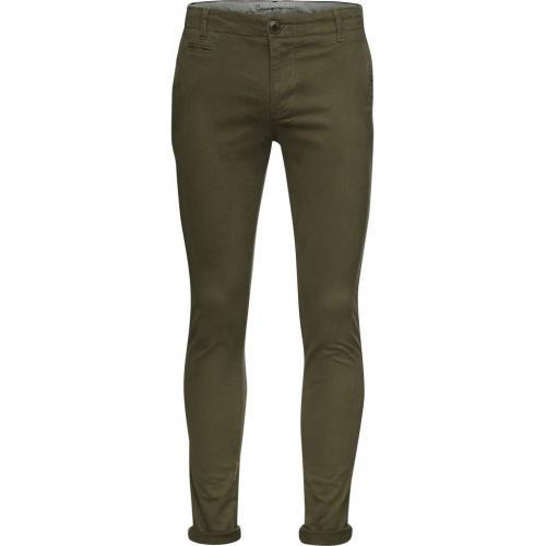 Pantalon kaki en coton bio - Knowledge Cotton Apparel