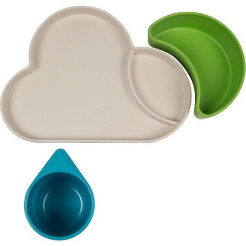 Tum Tum Set de vaisselle nuage bleu