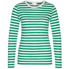 Lara Bold Stripes Garden Green