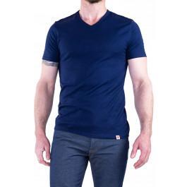 Tshirt 301 V Bleu Marine -