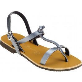 Sandales BANDOL Femme acier -