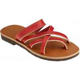 Mules NOMADE rouge -
