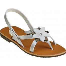 Sandales CEYLAN Bicolore argent mordoré -