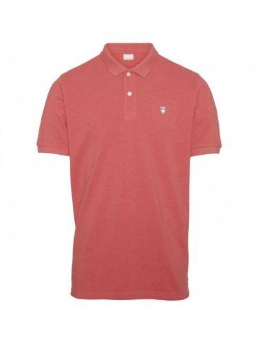 Rowan - Coral melange - Knowledge cotton apparel