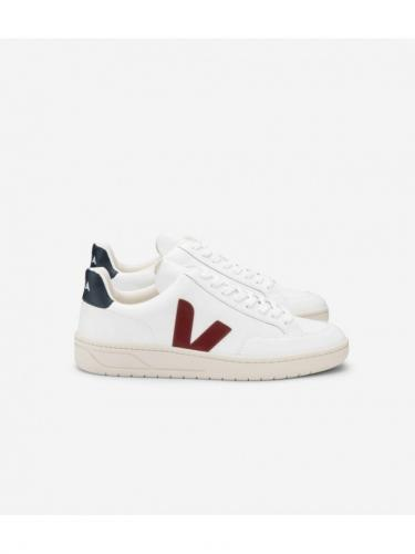 V12 leather - Extra White / Marsala / Nautico - Veja