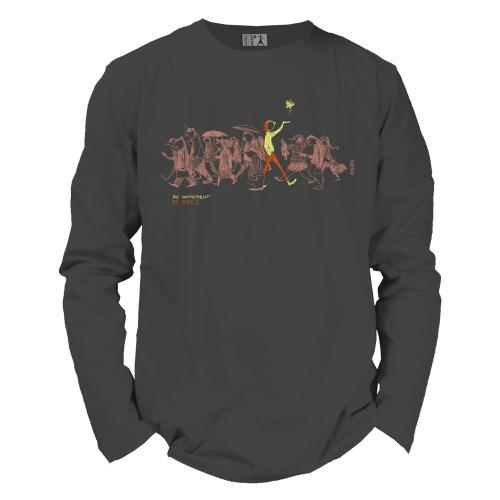 "T shirt coton bio équitable DAKAR ""Be different"""