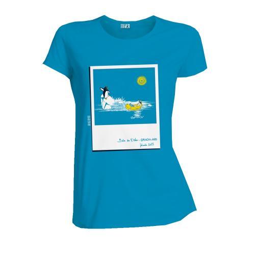 """T-shirt équitable coton bio JALNA """"Chaud Time"""""""
