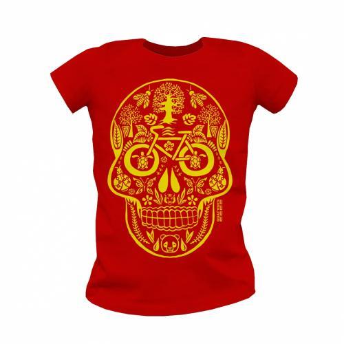 """T shirt coton bio équitable MANAUS """"Tête de Vie"""""""