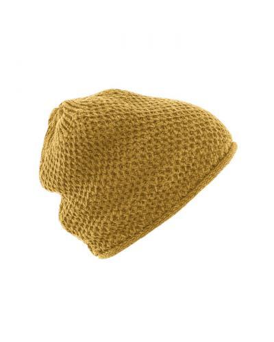 Bonnet tricoté Selina décontracté en chanvre et coton