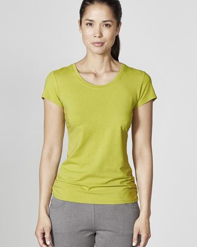 T-shirt avec fronces aux hanches