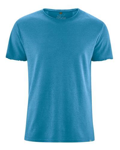 T-shirt bords roulottés