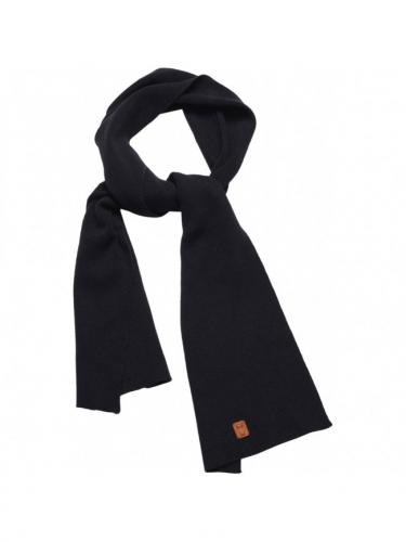 Scarf organic wool - Total Eclipse - Knowledge Cotton Apparel