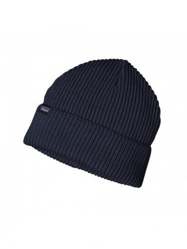 Fishermans rolled beanie - Navy blue - Patagonia