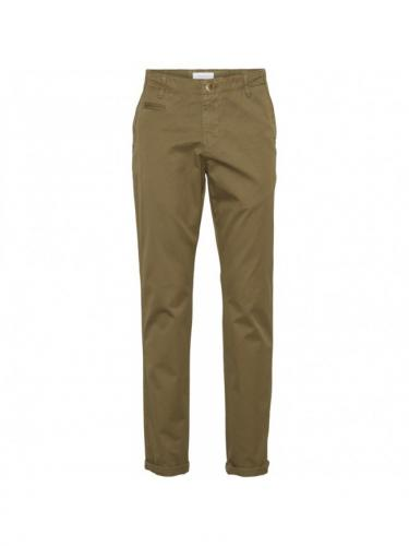 Chino Chuck regular - Burned Olive - Knowledge cotton apparel