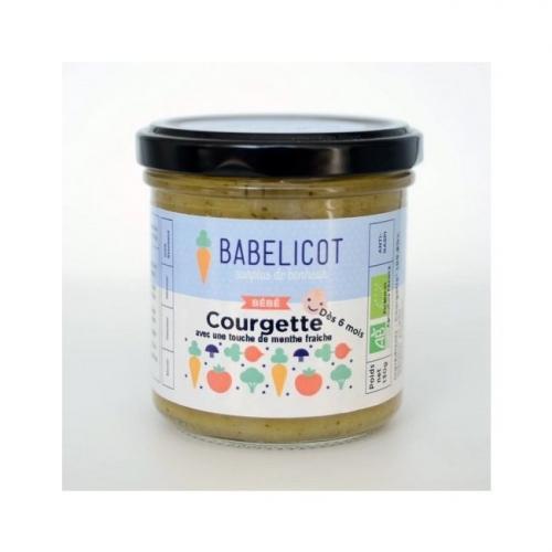 Babelicot petit pot Courgette 6 mois