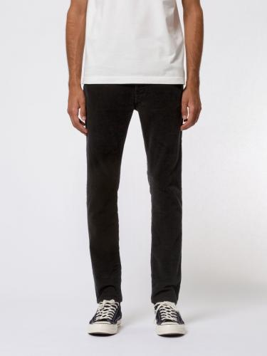 Jean slim noir en coton bio - lean dean black cord - Nudie Jeans