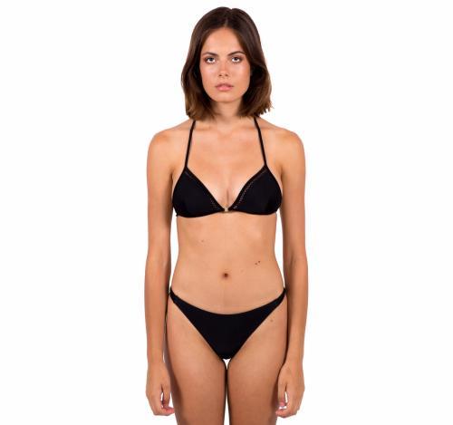Bas de bikini en nylon recyclé - black - Reset Priority