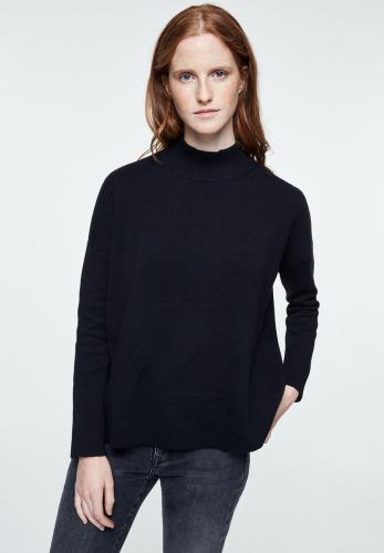 Pull noir en coton bio - yunaa - Armedangels