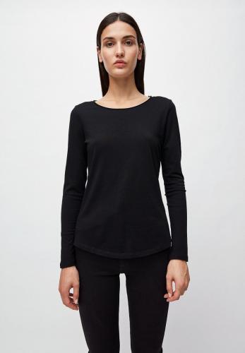 T-shirt manches longues noir en coton bio - rojaa