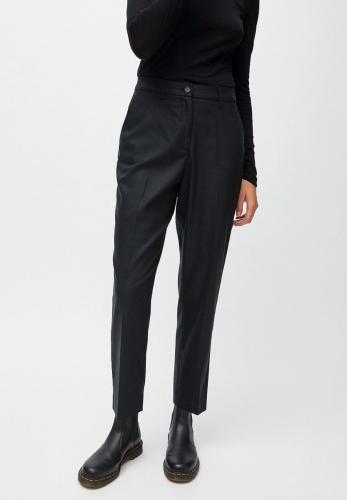 Pantalon à pinces noir en tencel - herttaa