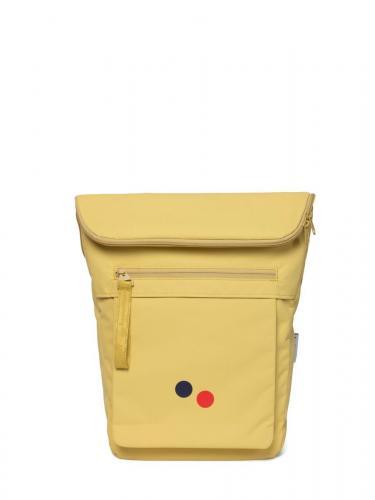 Sac à dos jaune en plastique recyclé - klak