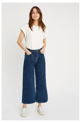 Jean large brut en coton bio - ariel