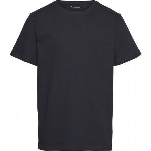 T-shirt marine en coton bio - Knowledge Cotton Apparel