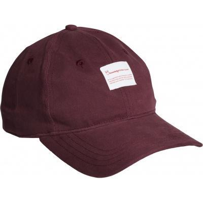 Casquette bordeaux en coton bio - Knowledge Cotton Apparel
